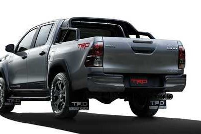 The Toyota Hilux Black Rally Edition is a TRD Truck Done Right