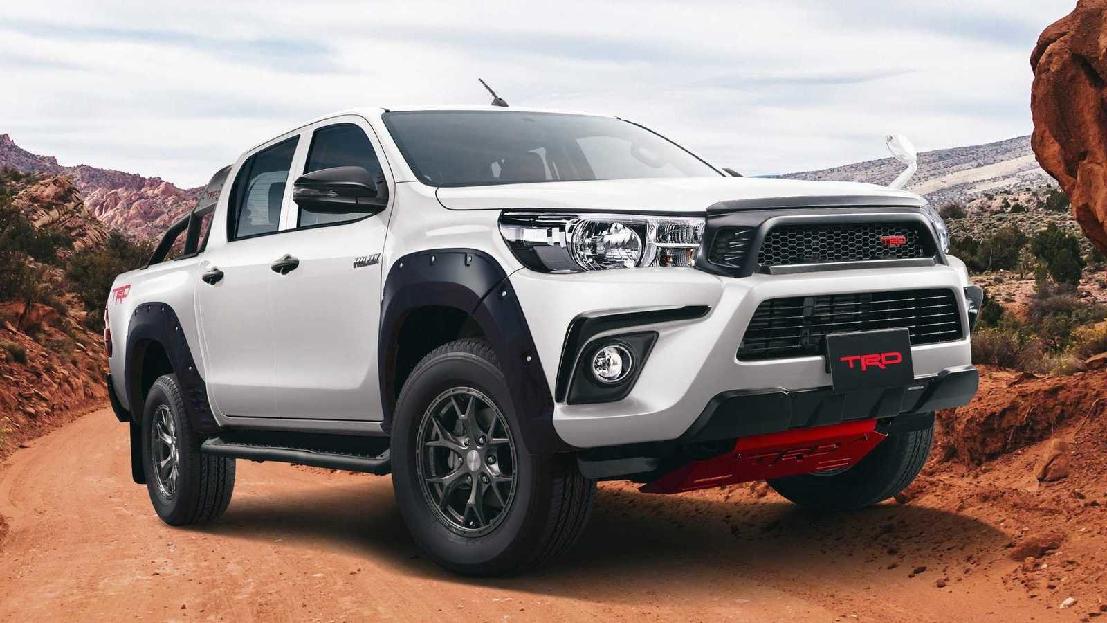 The Toyota Hilux Black Rally Edition Is A Trd Truck Done