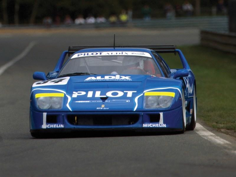 This Blue F40 LM Is The Best Belated Christmas Gift Money Can Buy