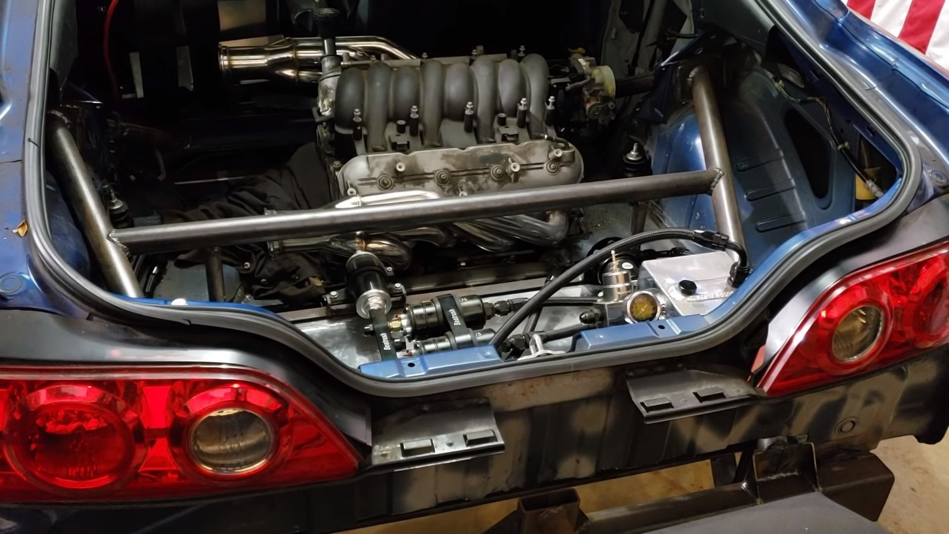 This Twin-Engine, AWD Acura RSX is as Ridiculous as it is Awesome