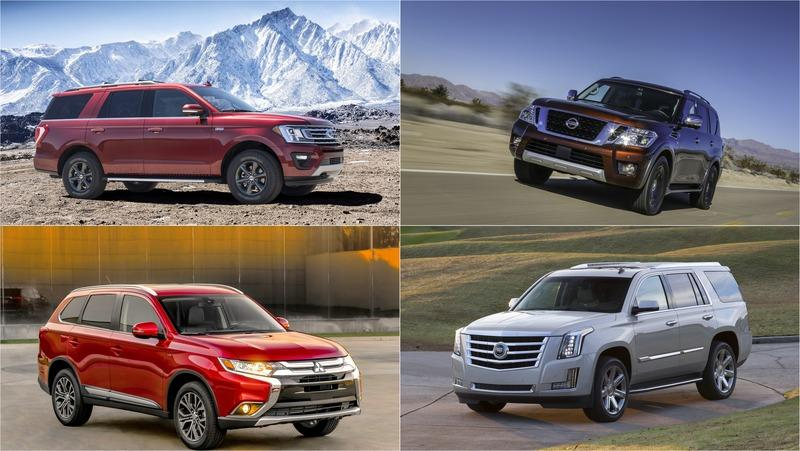 Top 6 2018 SUVS for The Holiday Season