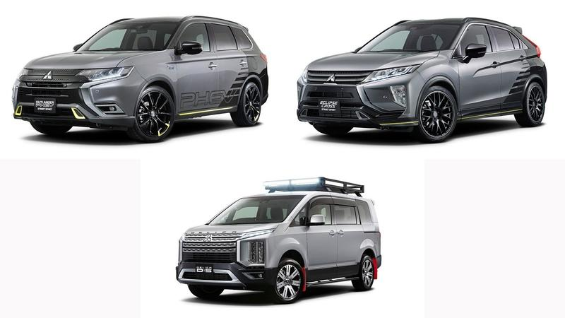Mitsubishi is Bringing Three Concepts to the Tokyo Auto Salon, All of Which Lack Certain Necessities