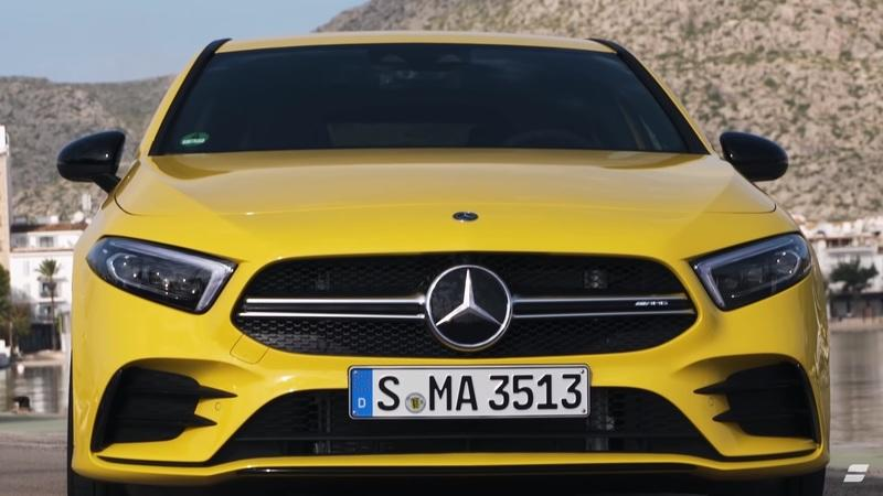 Video Reviews Say That the 2019 Mercedes-AMG A35 is Better than the 2018 Mercedes-AMG A45