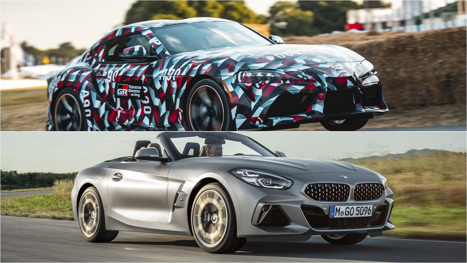 All Types Of Cars >> Visual Comparison: The 2020 Toyota Supra And The BMW Z4 | Top Speed