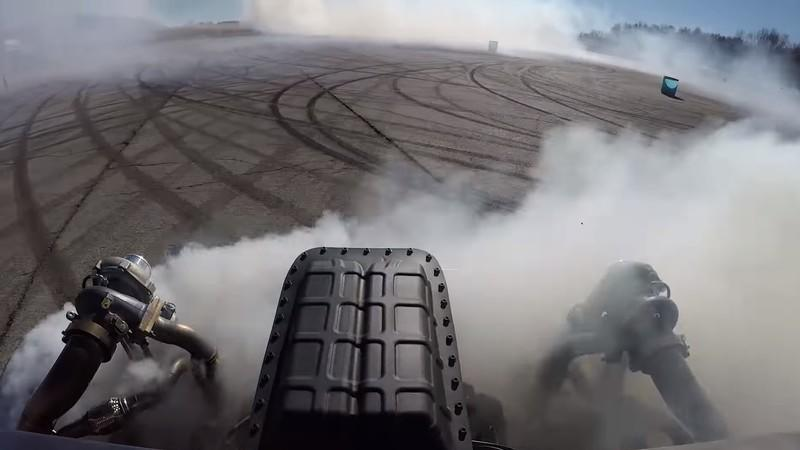 Watch Ken Block Destroy Tires In His New Hoonitruck: Video