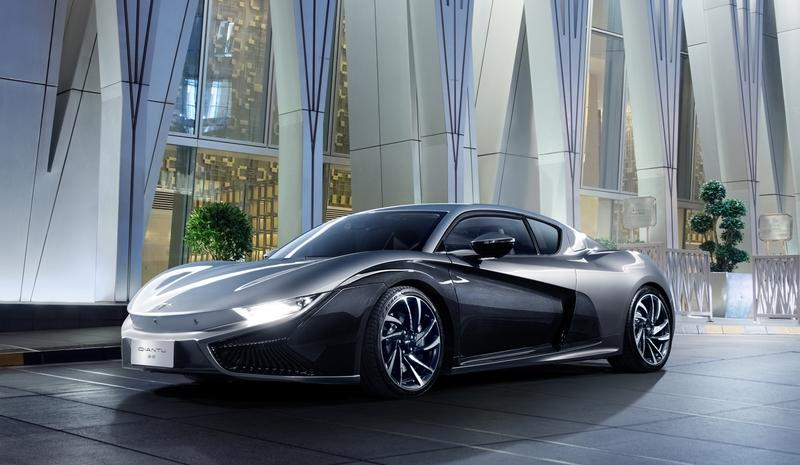 Watch Out Tesla Qiantu Motor S 400 Hp Electric Coupe Is Coming To