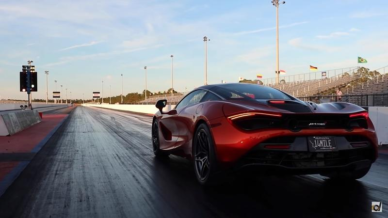 Watch the McLaren 720S Decimate a 60-MPH Run in 2.3 Seconds