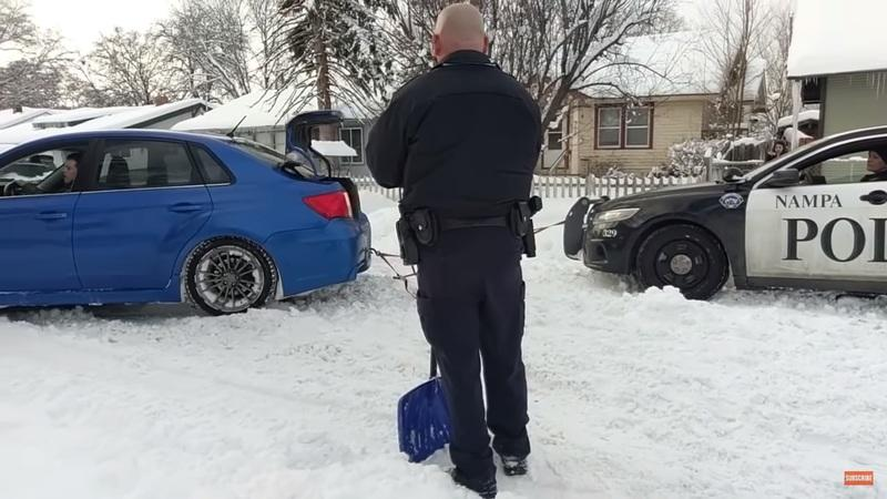 Watch This Compilation of Subarus Getting Stuff Unstuck From Snow: Video