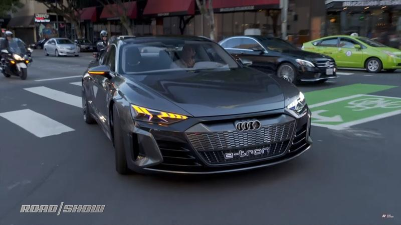 What's the Audi e-Tron GT Concept like to drive?