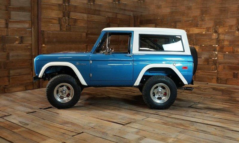 You Can Get a Fully Licensed, Brand New 1966-1977 Ford Bronco if You're Willing to Pay for it