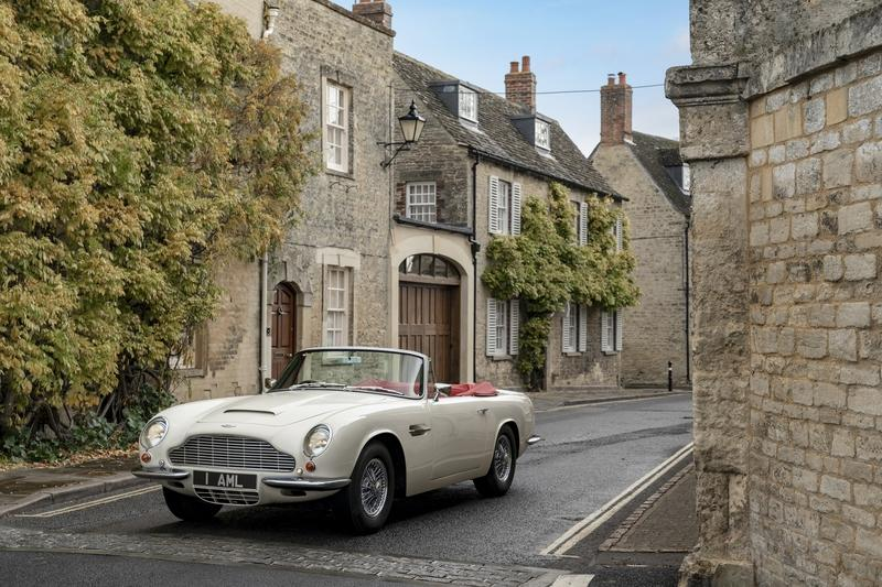 You Can Now Pay to Have an EV Powertrain Bolted into Your Classic Aston Martin Exterior - image 808420