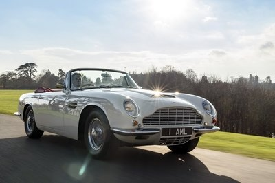 You Can Now Pay to Have an EV Powertrain Bolted into Your Classic Aston Martin