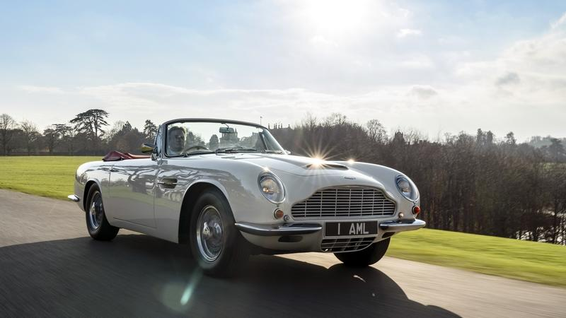 You Can Now Pay to Have an EV Powertrain Bolted into Your Classic Aston Martin Exterior - image 808553