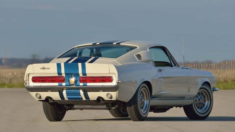 A One-of-One 1967 Shelby GT500 Super Snake Sold for $2.2 Million at a Mecum Auction