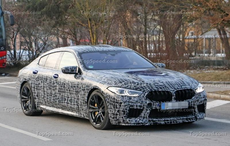 2019 BMW M8 Gran Coupe