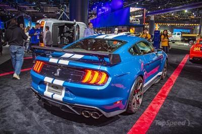 The 2020 Shelby GT500 packs more power than the Ferrari F8 Tributo!