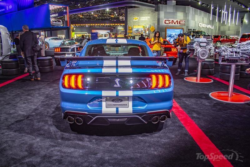 The 2020 Shelby GT500 packs more power than the Ferrari F8 Tributo! - image 816551