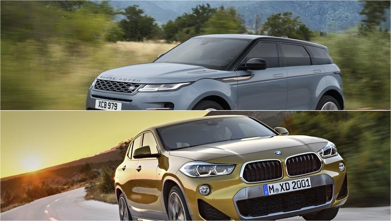 2019 Land Rover Range Rover Evoque vs 2019 BMW X2