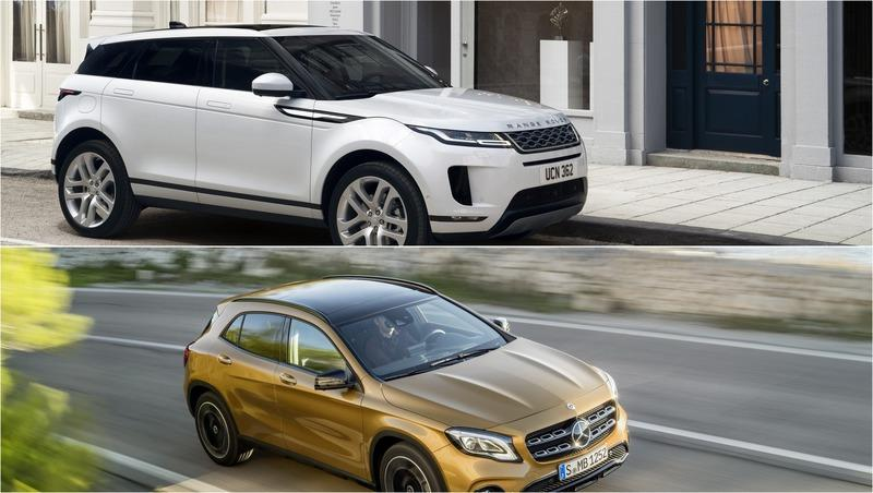 2019 Land Rover Range Rover Evoque vs 2019 Mercedes GLA-Class