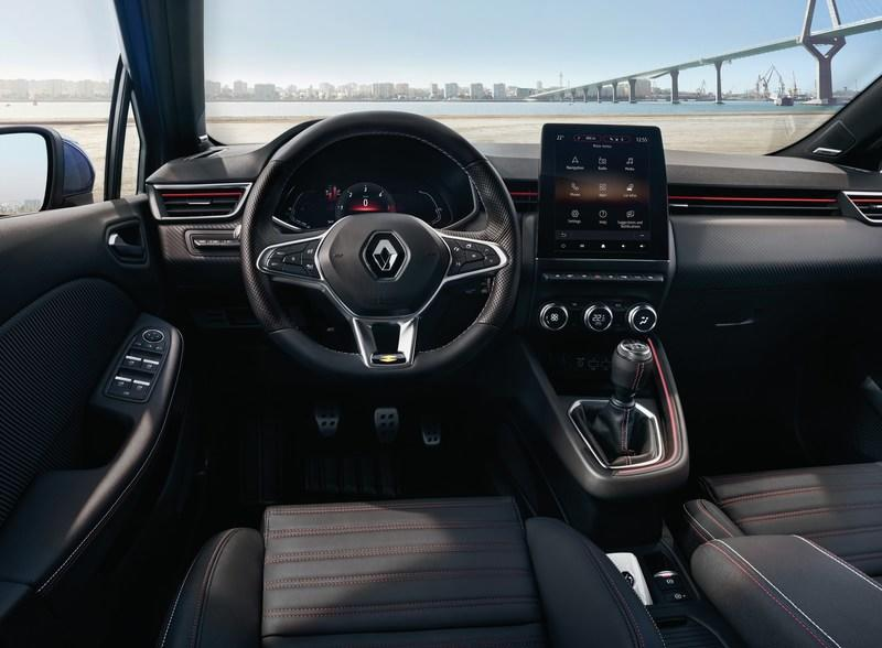 2019 Renault Clio's smart, upmarket looking interior revealed