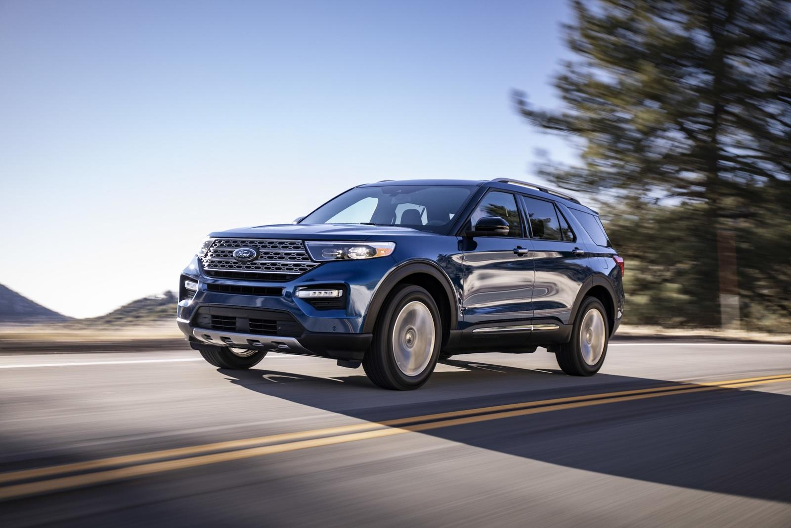 Blacked Out Cars >> 2020 Ford Explorer | Top Speed