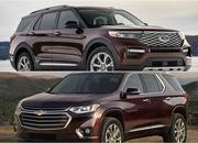 2020 Ford Explorer vs 2019 Chevy Traverse - image 818303