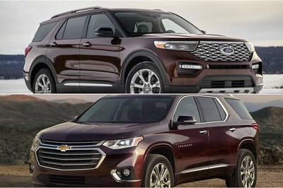 2020 Ford Explorer Vs 2019 Chevy Traverse | Top Speed