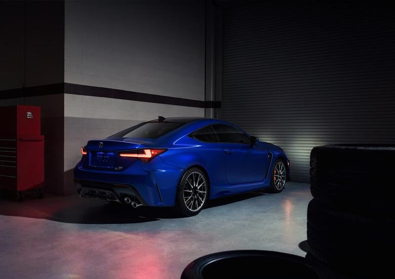 The Only Remaining N/A V-8 Sports Coupe Outside America Updated - 2020 Lexus RC F