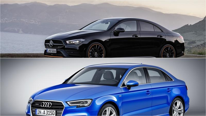 2020 Mercedes CLA vs 2020 Audi A3