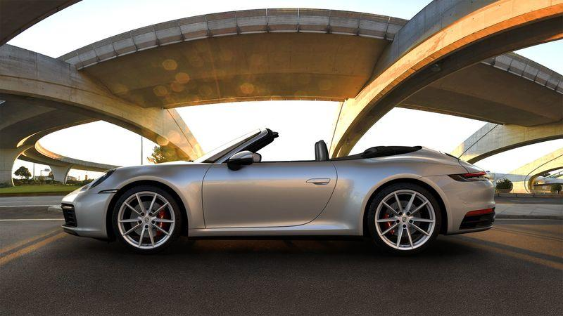 2020 Porsche 911 Cabriolet Top Speed