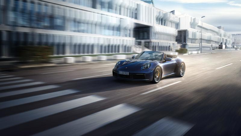 Wallpaper of the Day: 2020 Porsche 911 Cabriolet