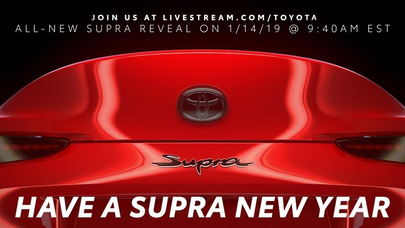 The 2020 Toyota Supra Has a Nice Booty