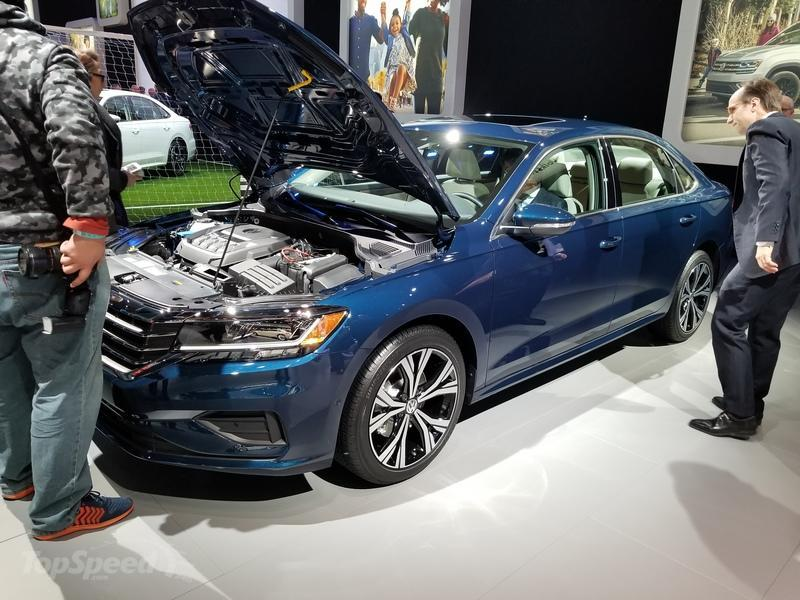 Volkswagen Brings The Old Passat To Detroit With A Fresh Face