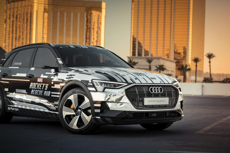 Audi Joins The Avengers For Virtual Reality Adventure at CES 2019