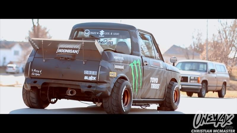 Check Out This Gixxer-Swapped Honda N600 Hoonitruck Tribute: Video