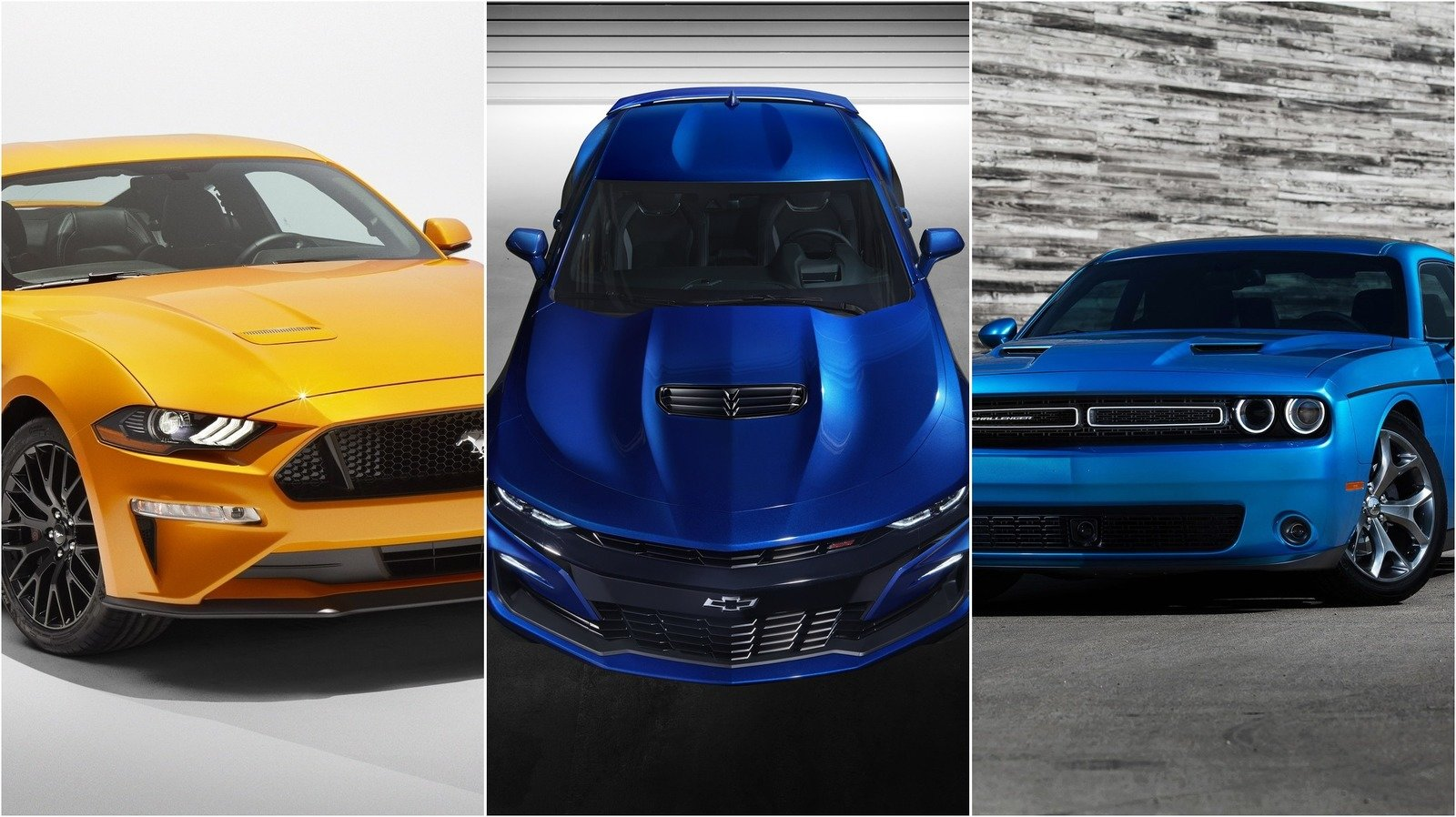 Camaro Vs Mustang >> Dodge Challenger Emerges Out Of Chevrolet Camaro's Shadow ...