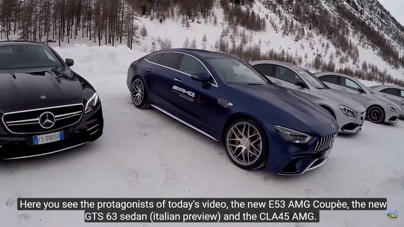 Does the 2019 Mercedes-AMG 4-Door Coupe Handle in Snow?