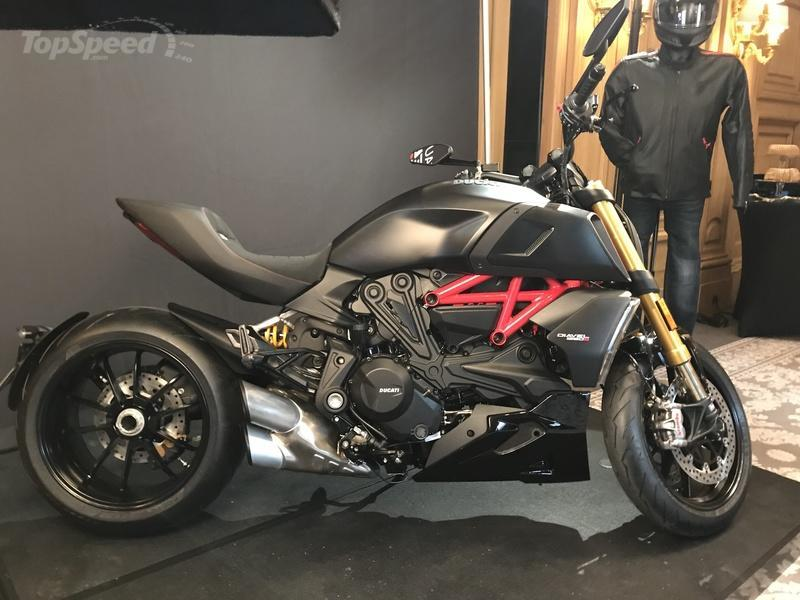 Ducati Diavel 1260 S - Media reveal