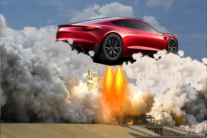 Elon Musk Makes More Crazy Promises About the Tesla Roadster