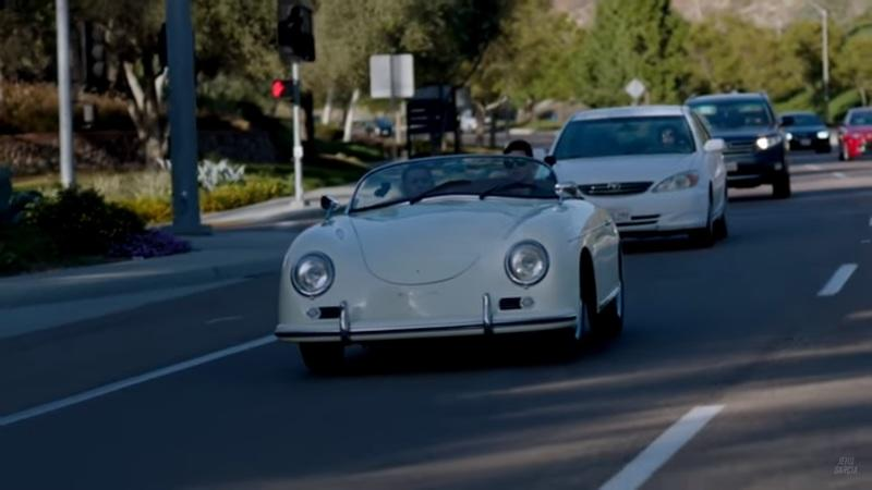 EV-swapped Porsche 356 Speedster is actually a great idea