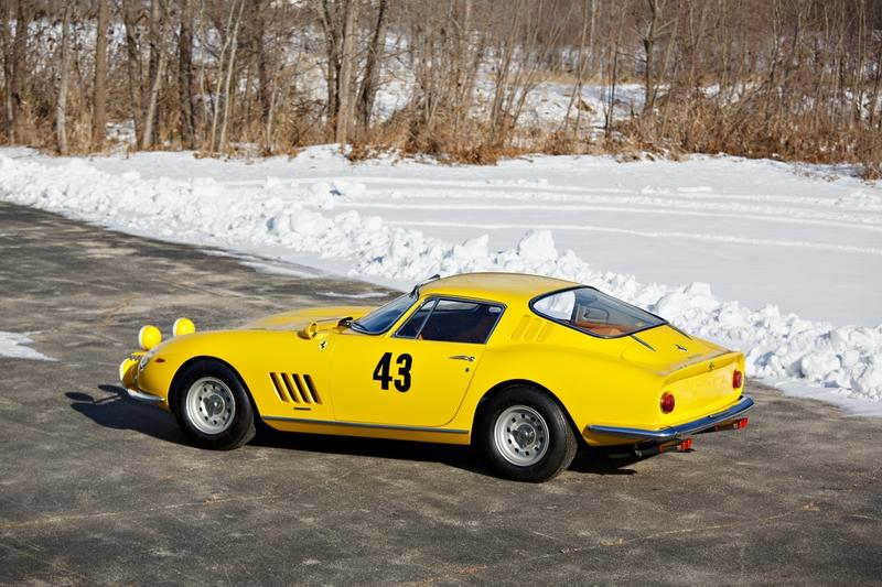 Ferrari 275 GTB Prototype with Monte-Carlo Rally In Its Resume To Head For Auction