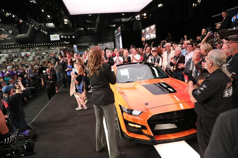 First 2020 Ford Mustang Shelby GT500 Sold For $1.1 Million - image 816845
