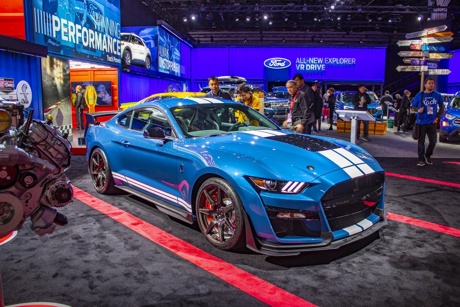 Ford Is Holding Out On The 2020 Shelby GT500's Horsepower ...