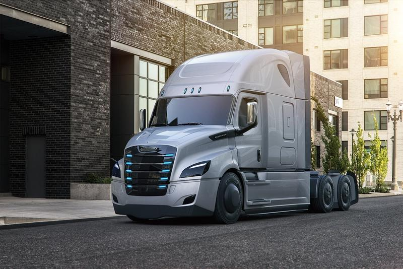 Freightliner Electric Trucks Have Hit The Roads In The States