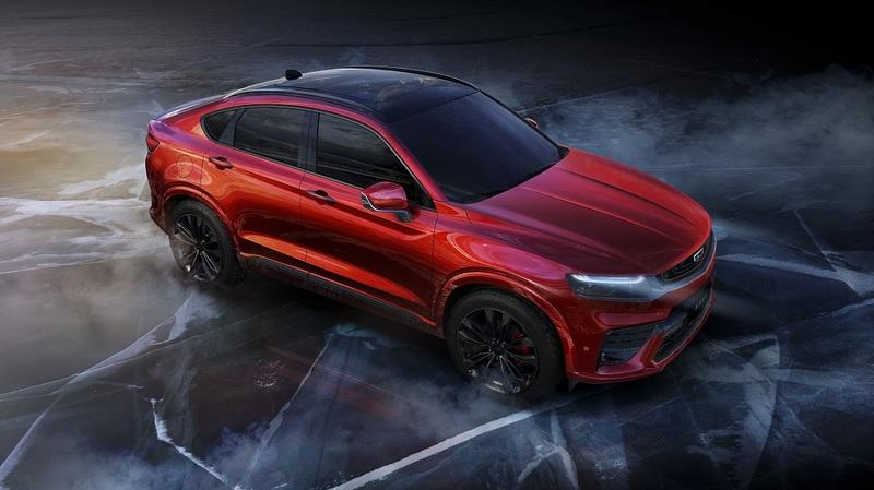 Geely Has Apparently Decided to Rip Off the Design of the BMW X4 for its New Volvo XC40-Based Crossover Coupe