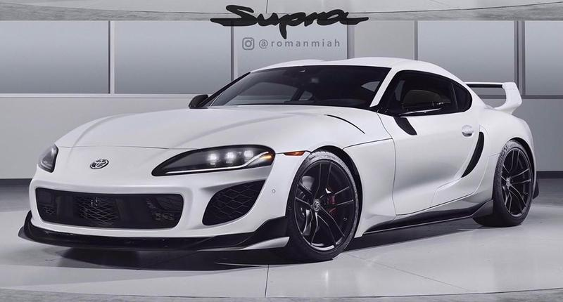 Here's Another Design Take on the 2020 Toyota Supra and Now We Know What it Should Have Looked Like
