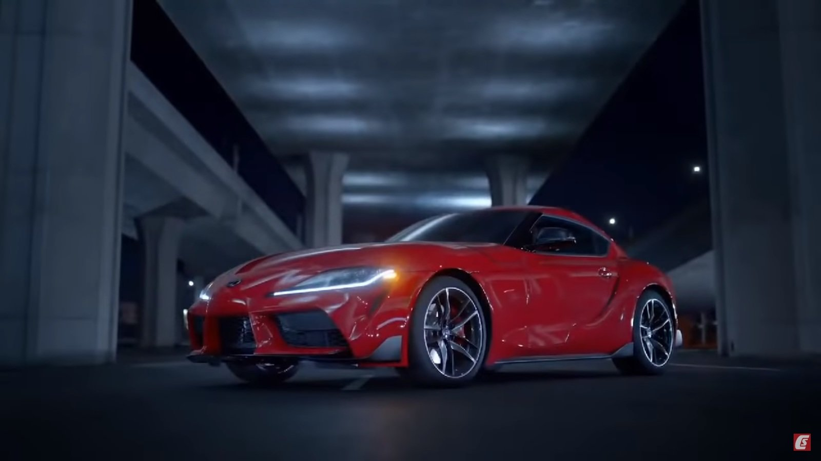 Here S The Toyota Supra Before You Re Supposed To See It Hurry Up
