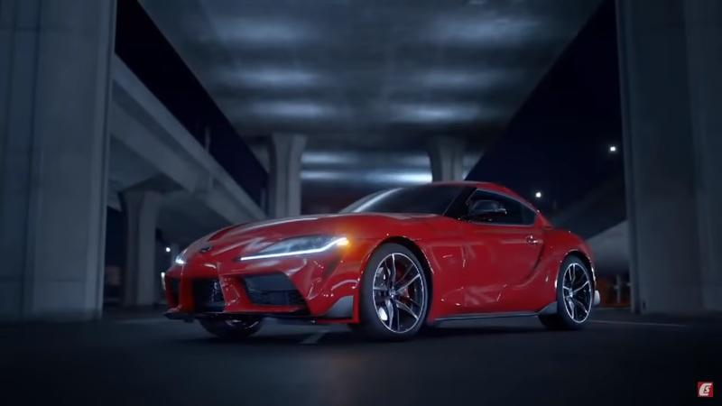 Here's the Toyota Supra Before You're Supposed to See It - Hurry Up Before the Video Disappears