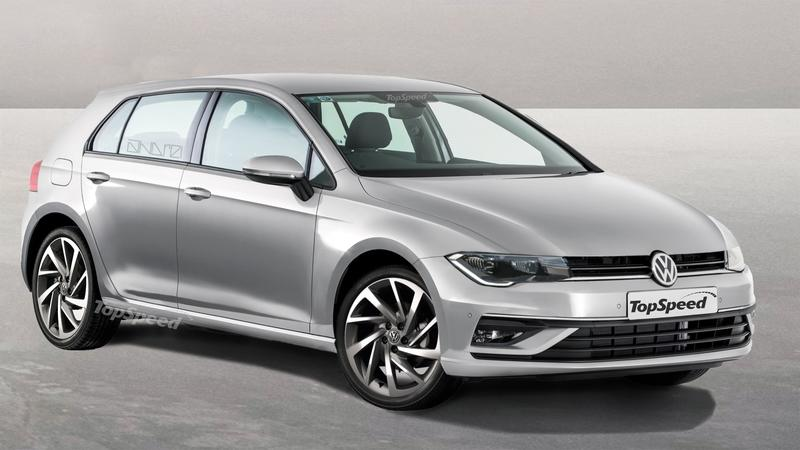 Here's What The 2020 Volkswagen Golf Mk. 8 WIll Look Like