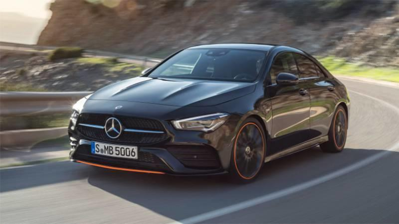 Here's Your First Look at the 2020 Mercedes-Benz CLA Before You're Supposed to See It